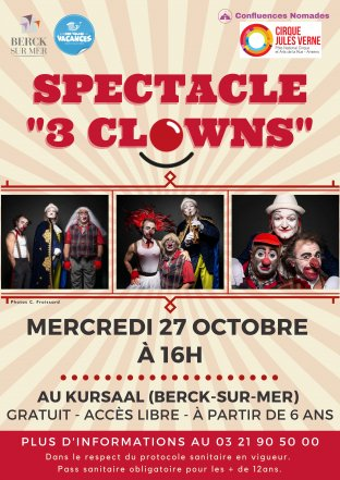 Spectacle 3 Clowns