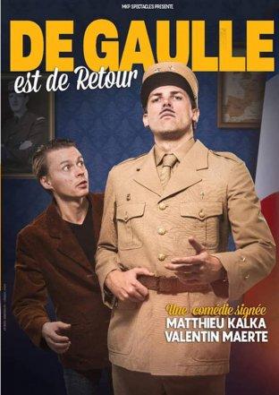 """Théâtre : """"De Gaulle est de retour"""" (Comédie)"""