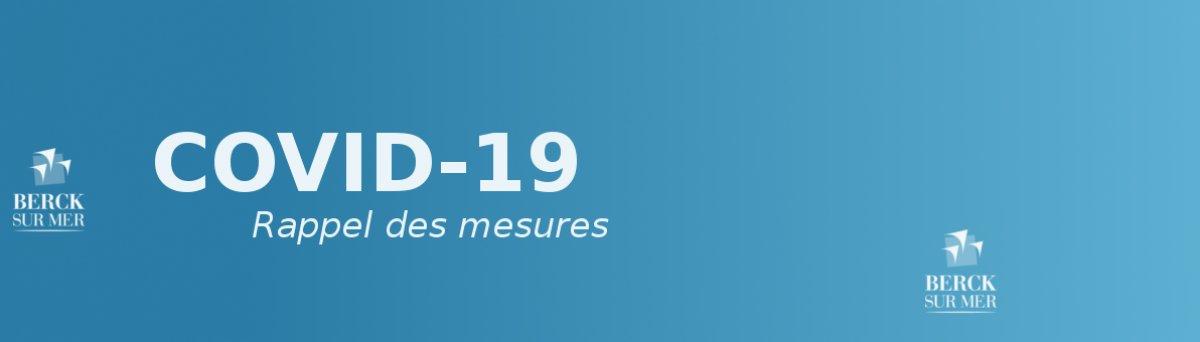 COVID-19: les mesures et informations municipales