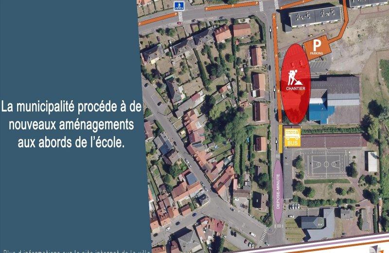 Information – travaux Rue de la Plaine de l'Eglise