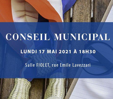 CONSEIL MUNICIPAL DU 17 MAI