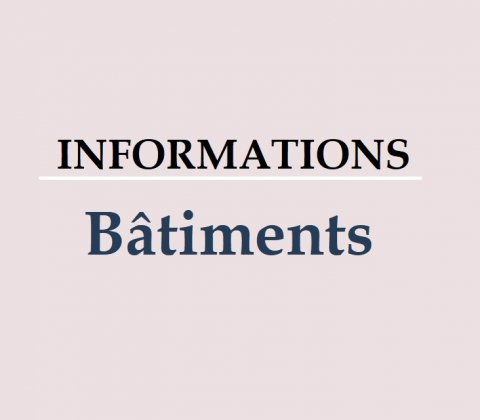 Informations Bâtiments