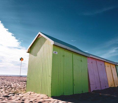 Infos réservation - Les cabines de plage sont de retour sur notre plage !