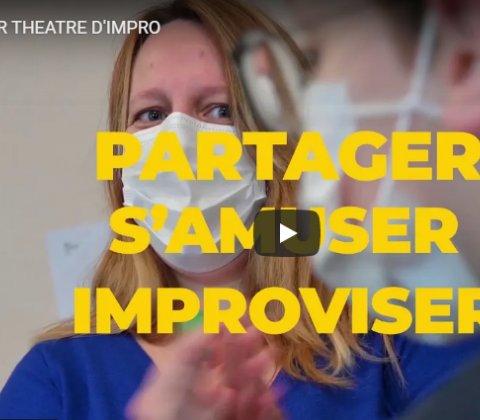 L'atelier théâtre d'impro du Centre Social en vidéo