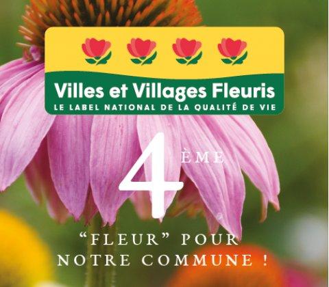 Une quatrième Fleur pour notre ville