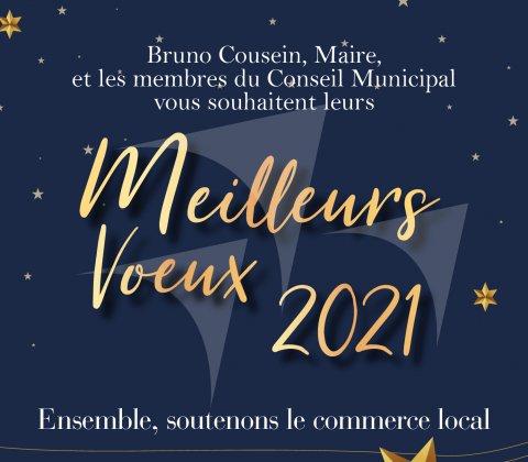 Vœux 2021 de Bruno COUSEIN, Maire de Berck-sur-Mer