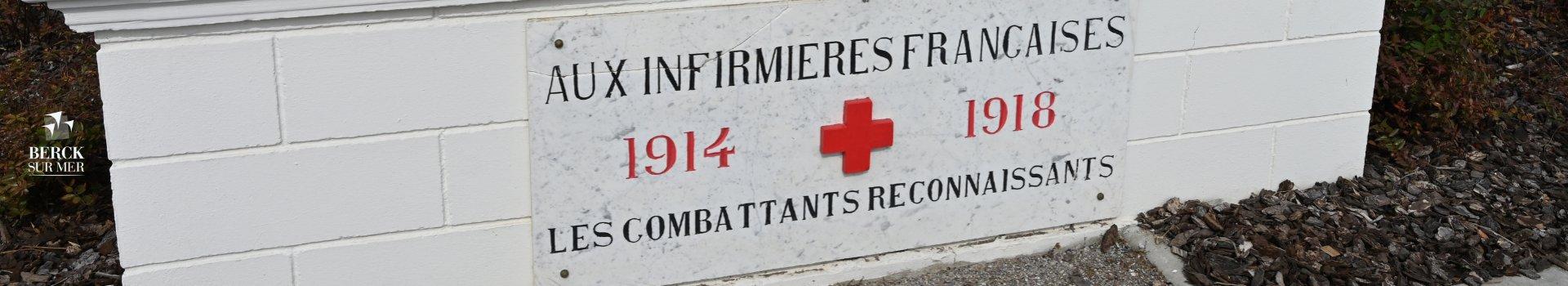 Bâtiment érigé à la gloire des infirmières françaises