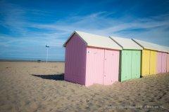 Cabines de plage - Berck-sur-Mer